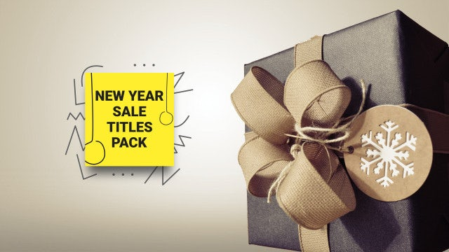 Photo of New Year Sale Titles – MotionArray 1048577