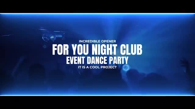 Photo of Night Club Event – Dance Party – MotionArray 1052420