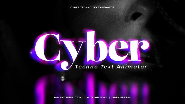 Photo of Cyber Techno Text Animator – MotionArray 1053121